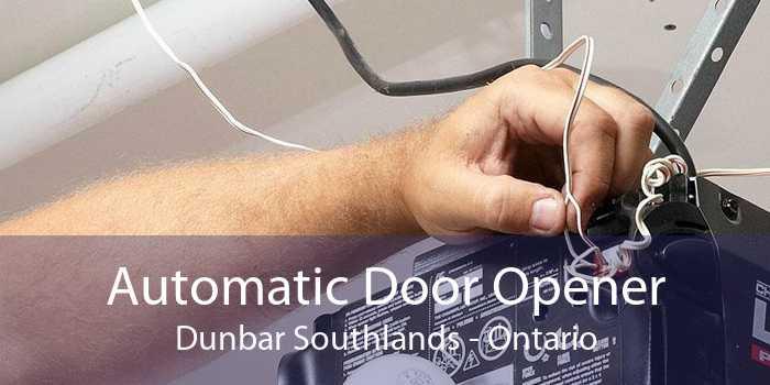 Automatic Door Opener Dunbar Southlands - Ontario