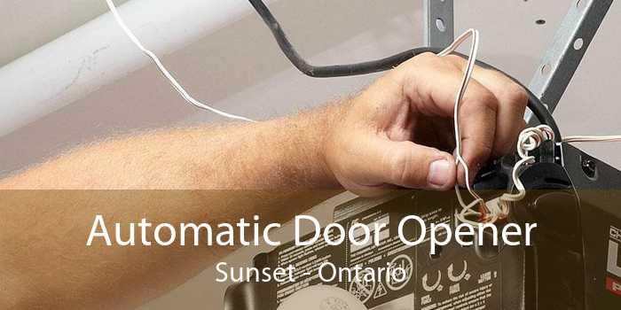 Automatic Door Opener Sunset - Ontario