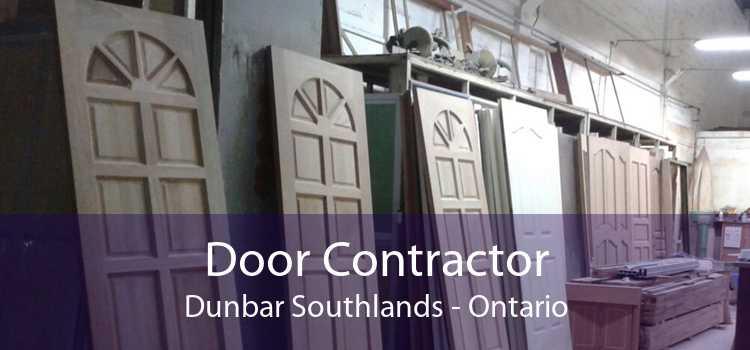 Door Contractor Dunbar Southlands - Ontario