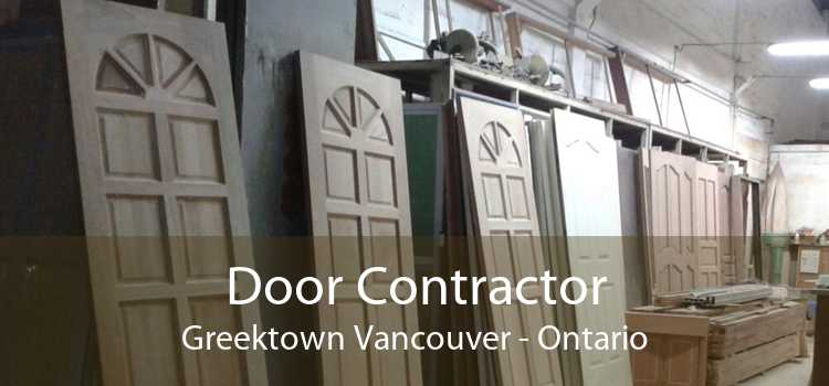 Door Contractor Greektown Vancouver - Ontario