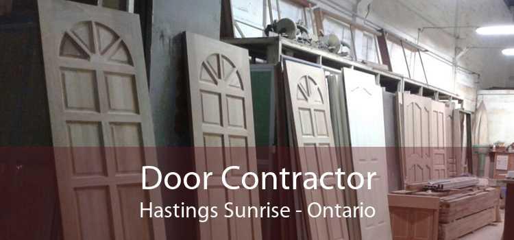 Door Contractor Hastings Sunrise - Ontario