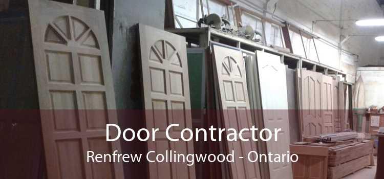 Door Contractor Renfrew Collingwood - Ontario