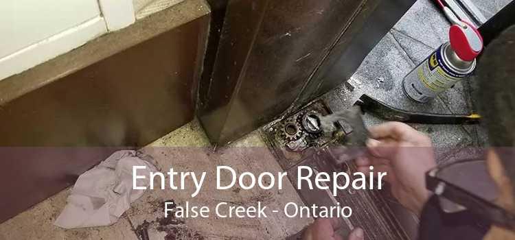 Entry Door Repair False Creek - Ontario