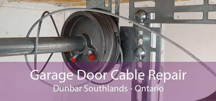 Garage Door Cable Repair Dunbar Southlands - Ontario