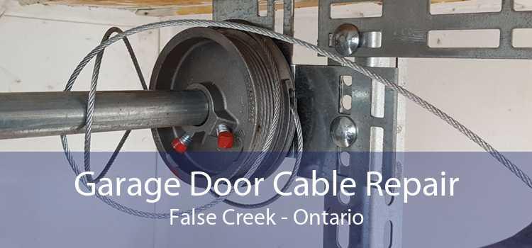 Garage Door Cable Repair False Creek - Ontario