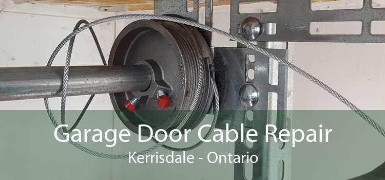 Garage Door Cable Repair Kerrisdale - Ontario
