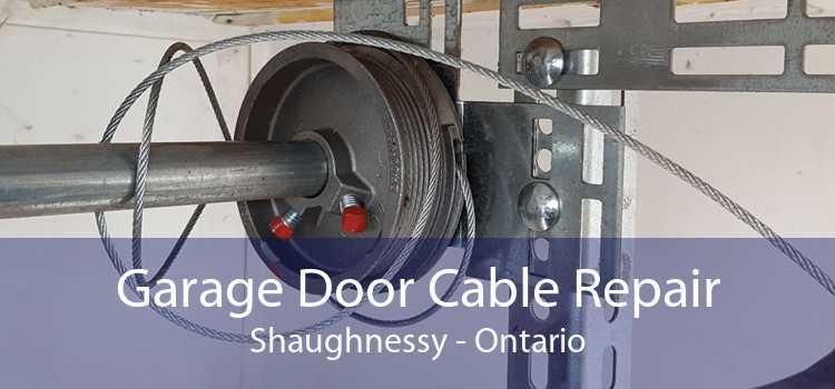 Garage Door Cable Repair Shaughnessy - Ontario