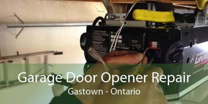 Garage Door Opener Repair Gastown - Ontario