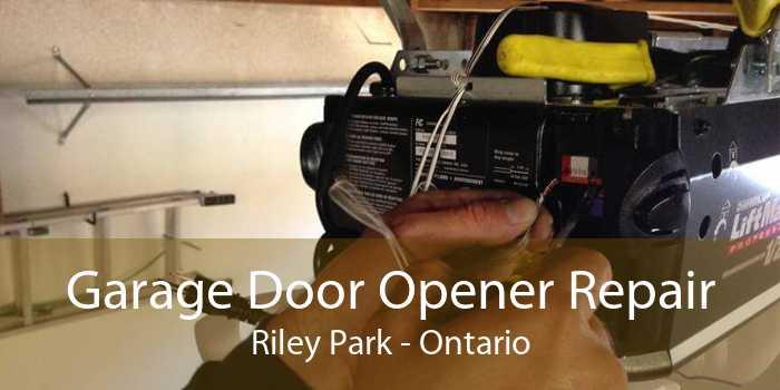 Garage Door Opener Repair Riley Park - Ontario