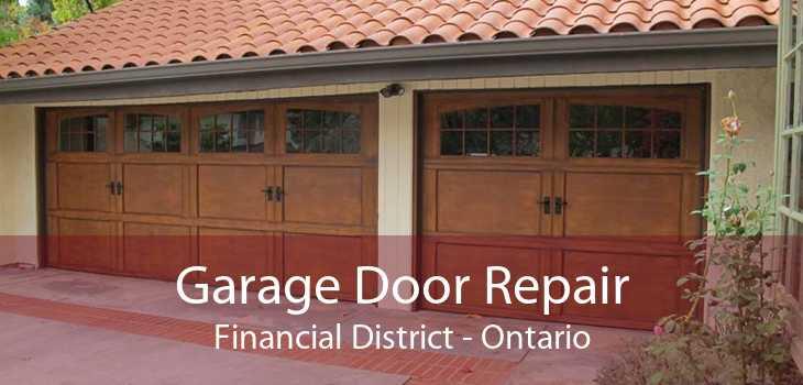 Garage Door Repair Financial District - Ontario