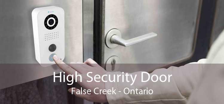 High Security Door False Creek - Ontario