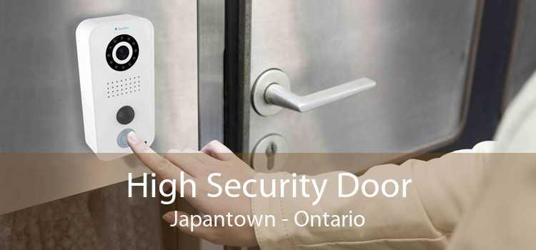 High Security Door Japantown - Ontario