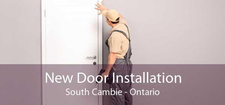 New Door Installation South Cambie - Ontario
