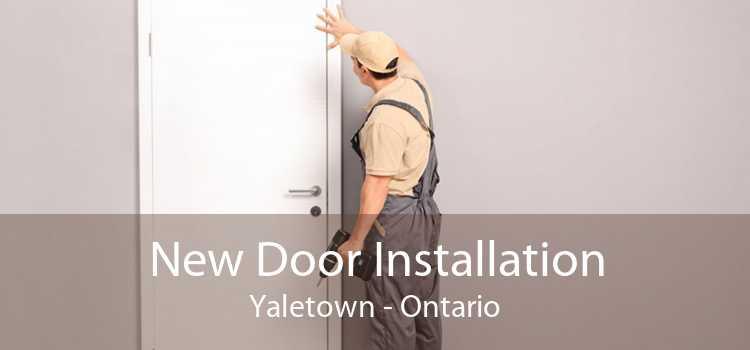 New Door Installation Yaletown - Ontario