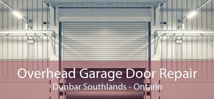 Overhead Garage Door Repair Dunbar Southlands - Ontario