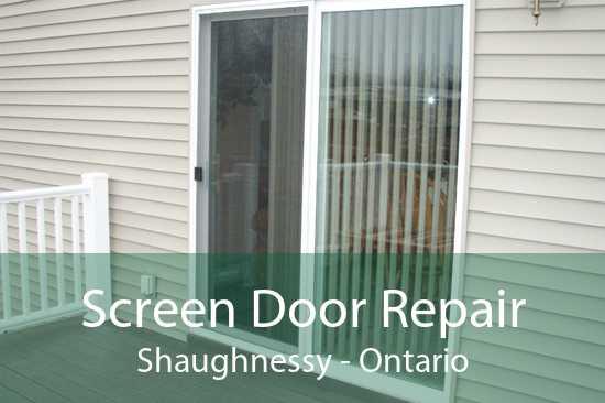 Screen Door Repair Shaughnessy - Ontario