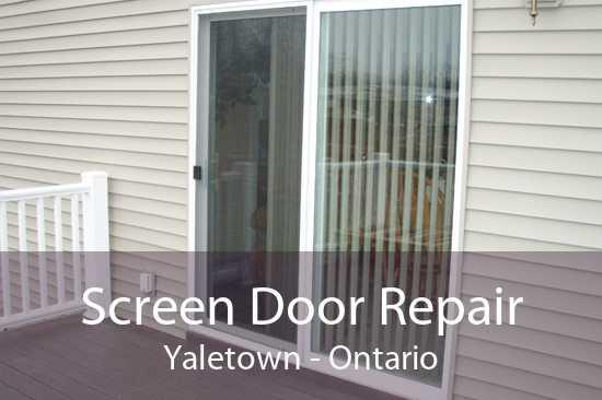Screen Door Repair Yaletown - Ontario