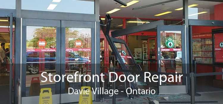 Storefront Door Repair Davie Village - Ontario