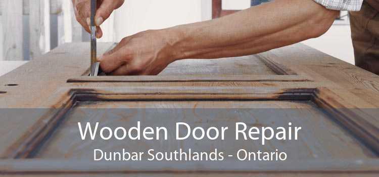 Wooden Door Repair Dunbar Southlands - Ontario