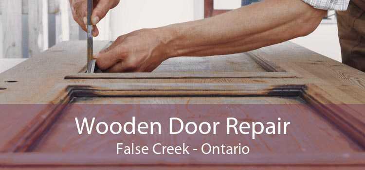 Wooden Door Repair False Creek - Ontario